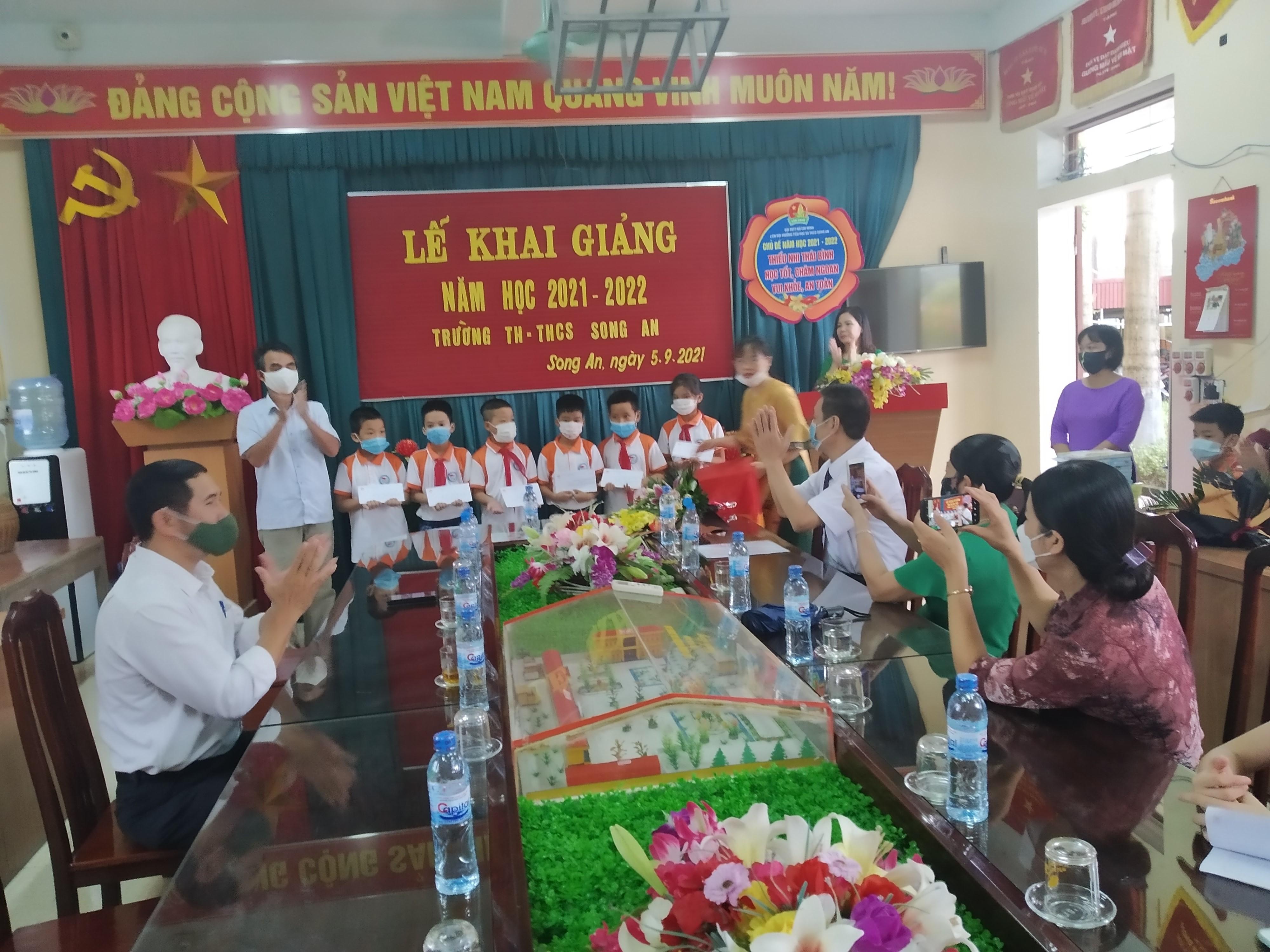 Xã Song An huyện Vũ Thư Đẩy mạnh công tác khuyến học, khuyến tài, xây dựng xã hội học tập