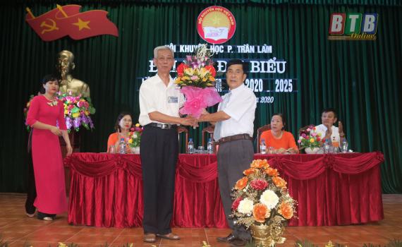 Hội Khuyến học phường Trần Lãm: Phấn đấu cuối nhiệm kỳ, 91,3% gia đình, 100% dòng họ, 100% cộng đồng, 100% đơn vị đạt tiêu chí về học tập.