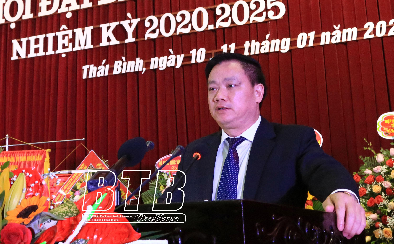 BÀI PHÁT BIỂU CỦA ĐỒNG CHÍ NGUYỄN KHẮC THẬN PHÓ BÍ THƯ TỈNH ỦY, CHỦ TỊCH UBND TỈNH tại Đại hội Hội Khuyến học tỉnh Thái Bình lần thứ V, nhiệm kỳ 2020 – 2025