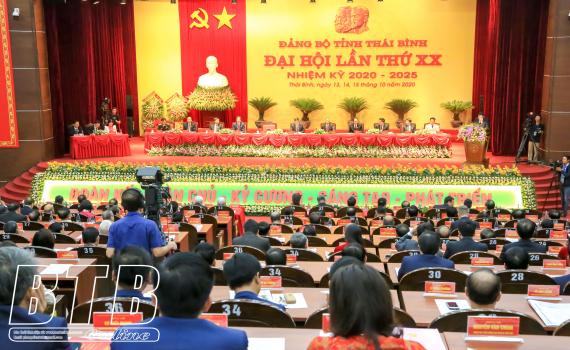Nghị quyết Đại hội đại biểu Đảng bộ tỉnh Thái Bình lần thứ XX, nhiệm kỳ 2020 - 2025